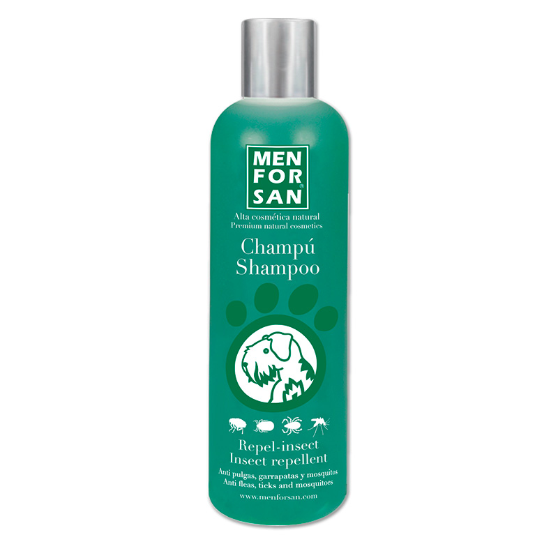 Menforsan Natural Insect Repellent Shampoo with Citronela for Dogs