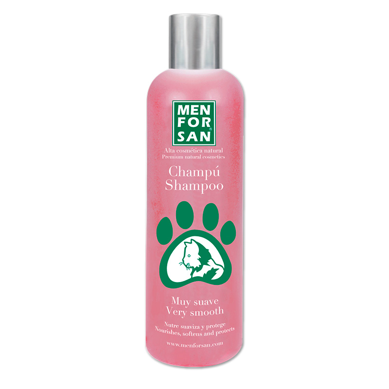 Men for San Natural Very Smooth Shampoo for Cats 300ml