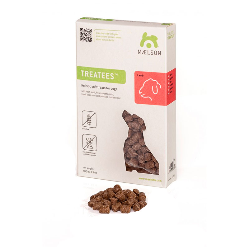 Maelson Treatees Snack natural Cordero 100g