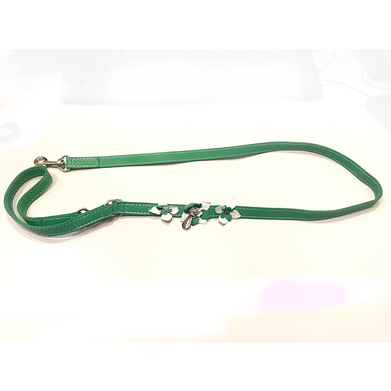 Malucchi Green Strap with Green Flowers