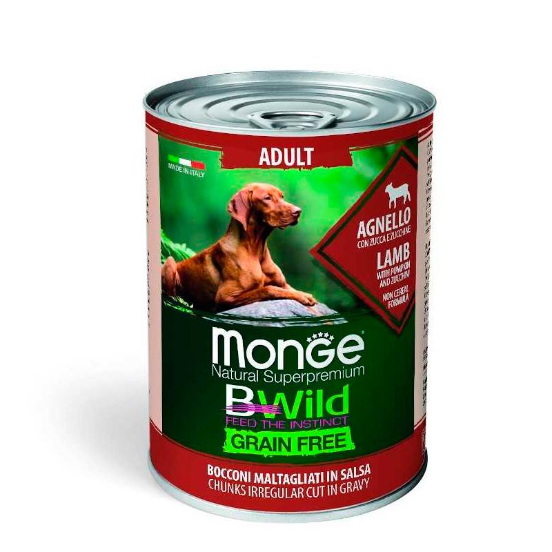Monge Bwild Pate Adult Lamb Grain Free
