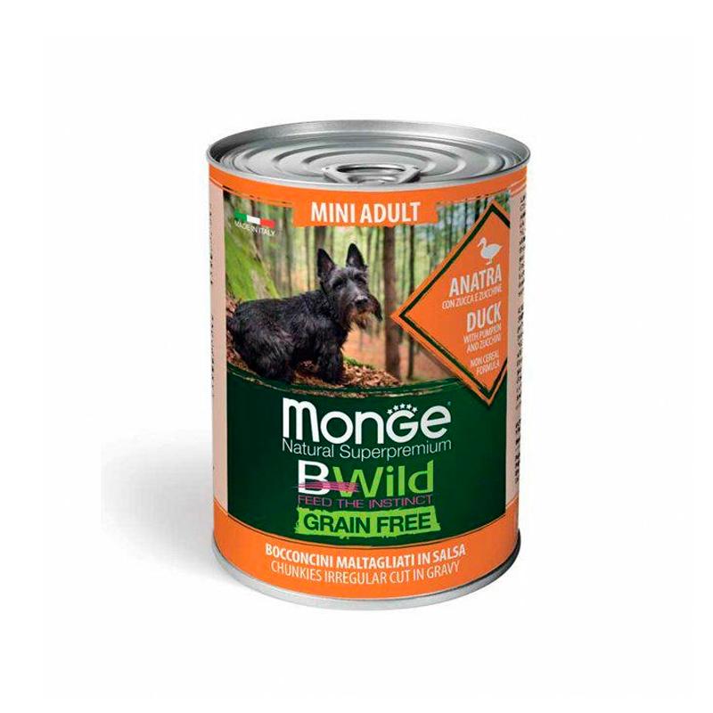 Monge Bwild Pate Puppy Duck Grain Free