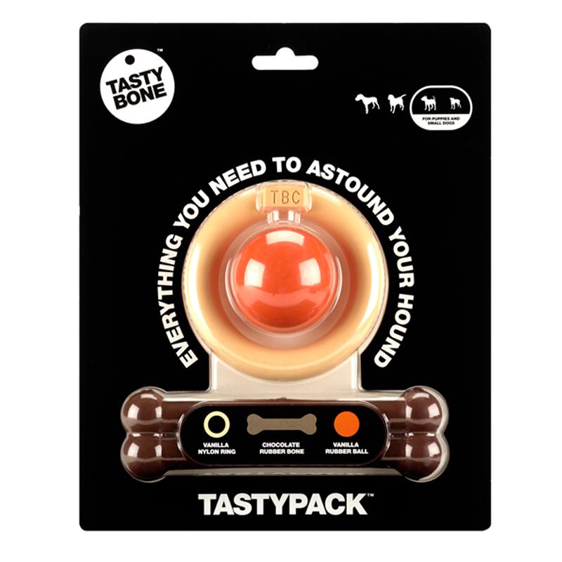 Tasty Multipack Teether Vanilla Chocolate