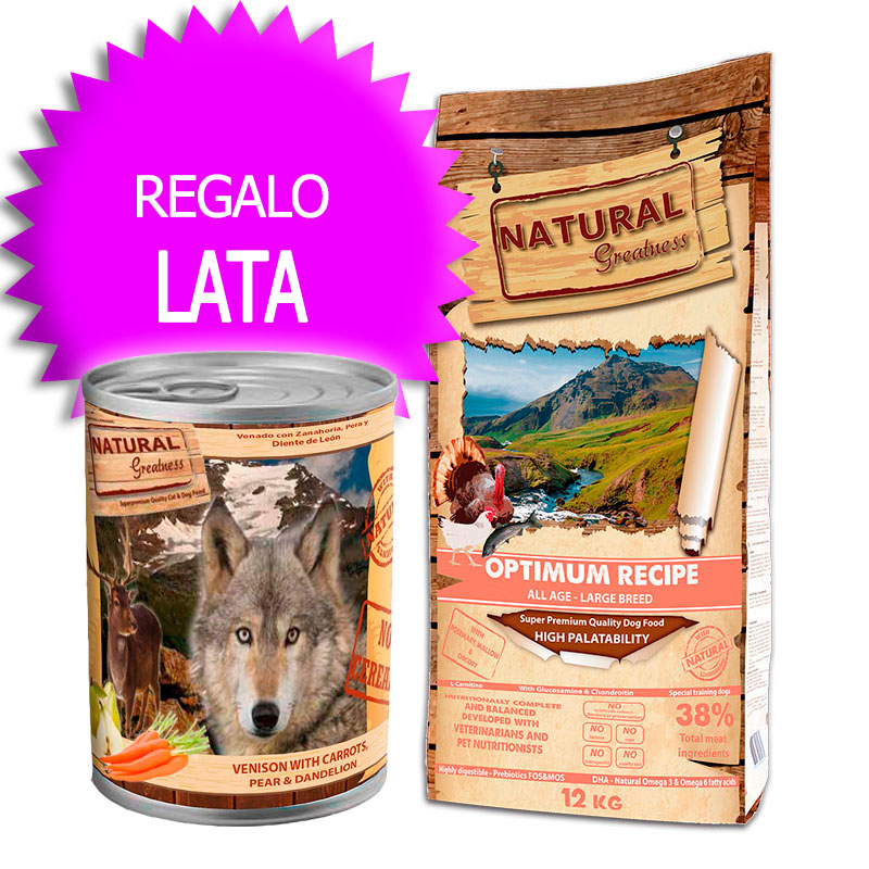 Natural Greatness Receta Optimum Razas Grandes