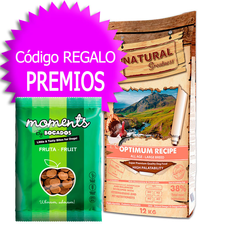 Natural Greatness Optimum Recipe Large Breed 12Kg+Coupon