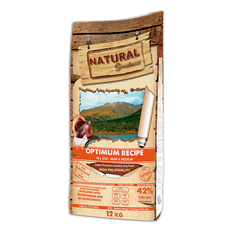 Natural Greatness Optimum Recipe Mini and Medium Breed
