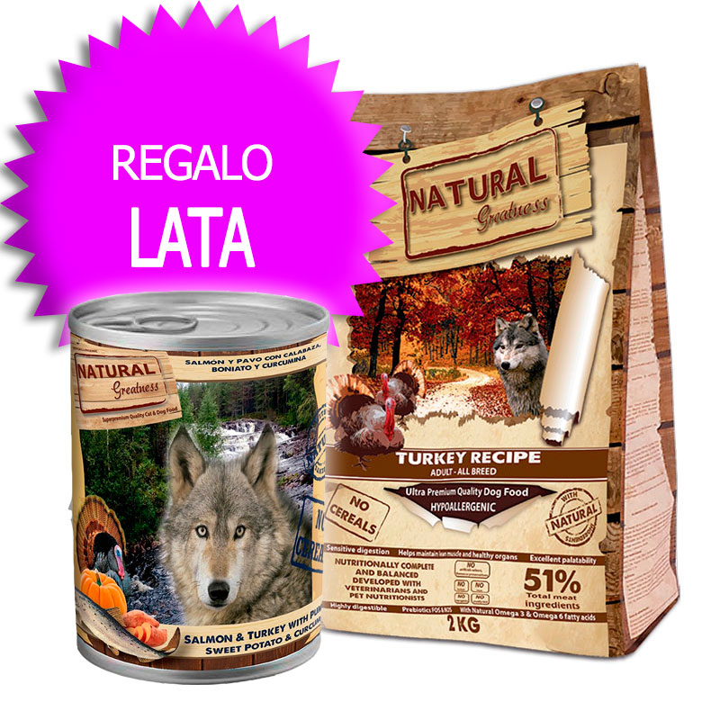 Natural Greatness Receta Pavo