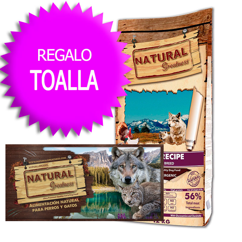 Natural Greatness Receta Salvaje