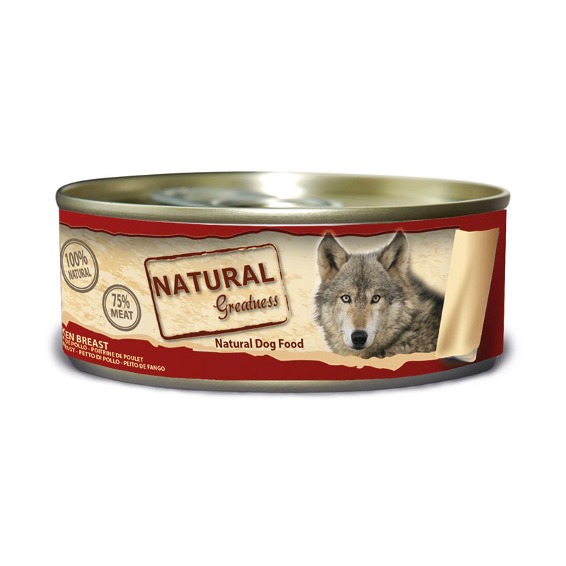 Natural Greatness WFD Chicken Breast 156gr. Wet Food for Dogs