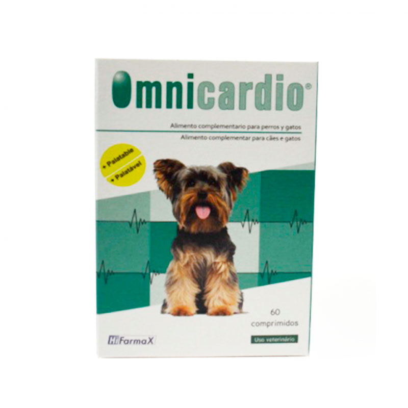Omnicardio. Support of cardiac function in dogs and cats 60 tablets