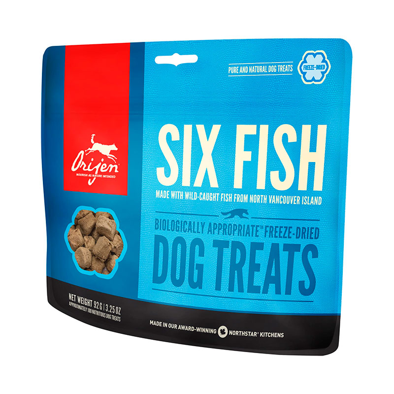 Orijen Six Fish Dog Treats 42.5gr