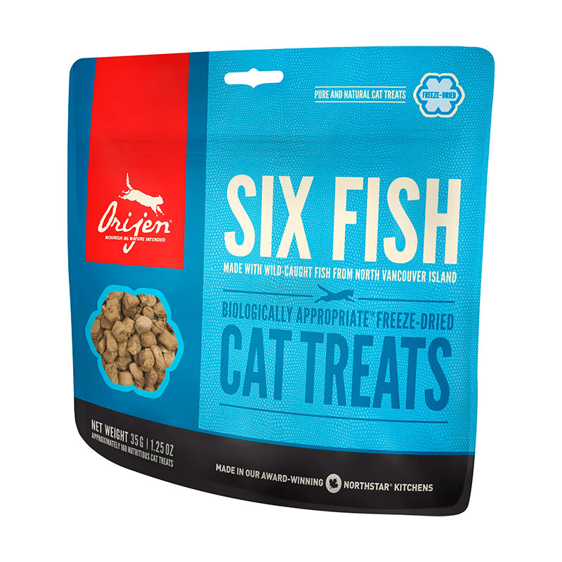 Premios Orijen Six Fish Cat Treats 35gr