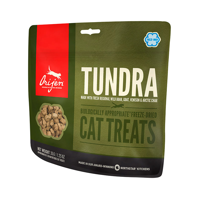 Orijen Tundra Cat Treats premios para gatos