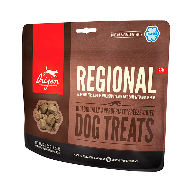 Premios Orijen Regional Red Dog Treats 42.5gr