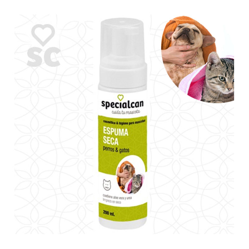 Specialcan Dry dog and cat foam