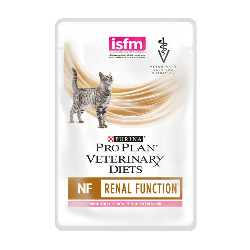 Purina ProPlan Veterinary Diet Feline NF (Renal Function) Salmon Pouch