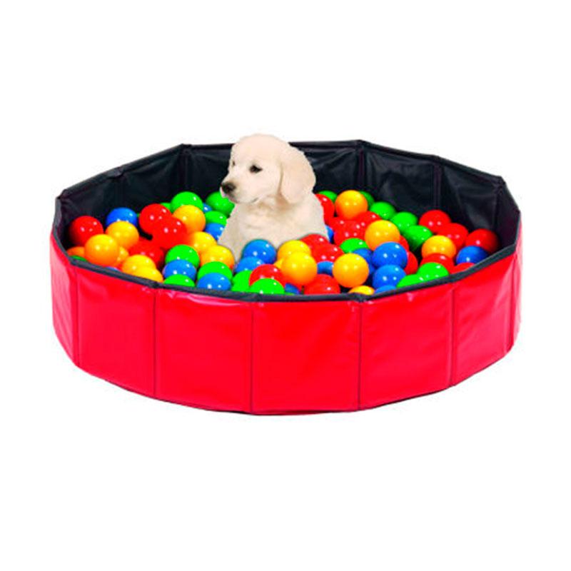 Perro accesorios para el verano doggy pool piscina con for Piscina para perros barcelona