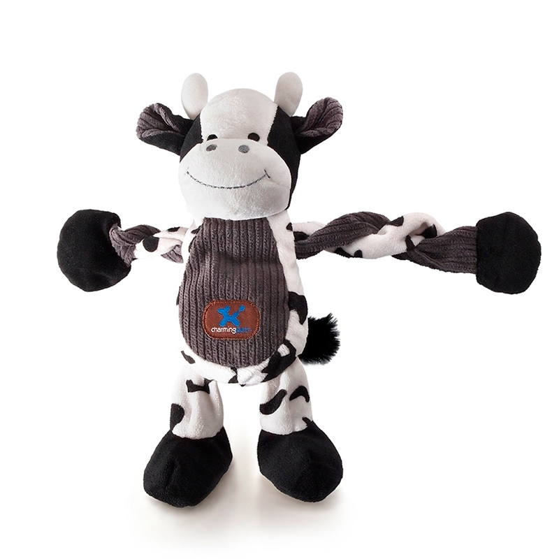 Petstages Plush with Cow Rope
