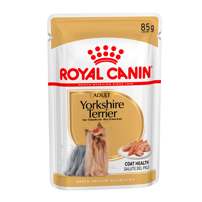 Royal Canin Yorkshire Terrier Adulto sobre 85gr