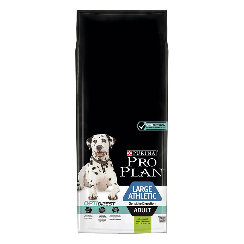 Purina Pro Plan Adult Large Breed Athletic with Lamb 14Kg