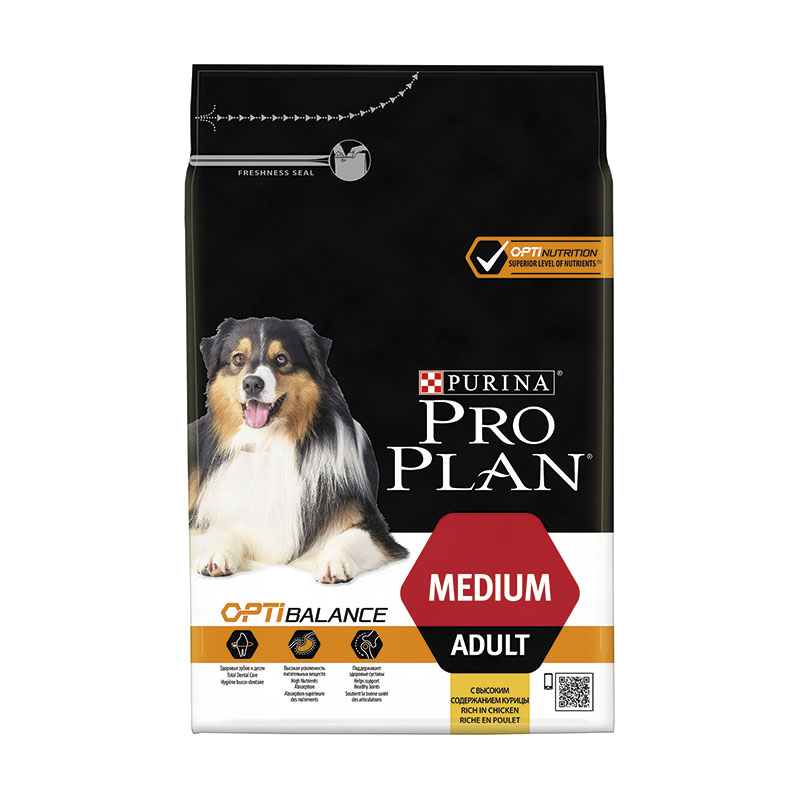 Purina Pro Plan Adulto Razas Medianas OptiHealth