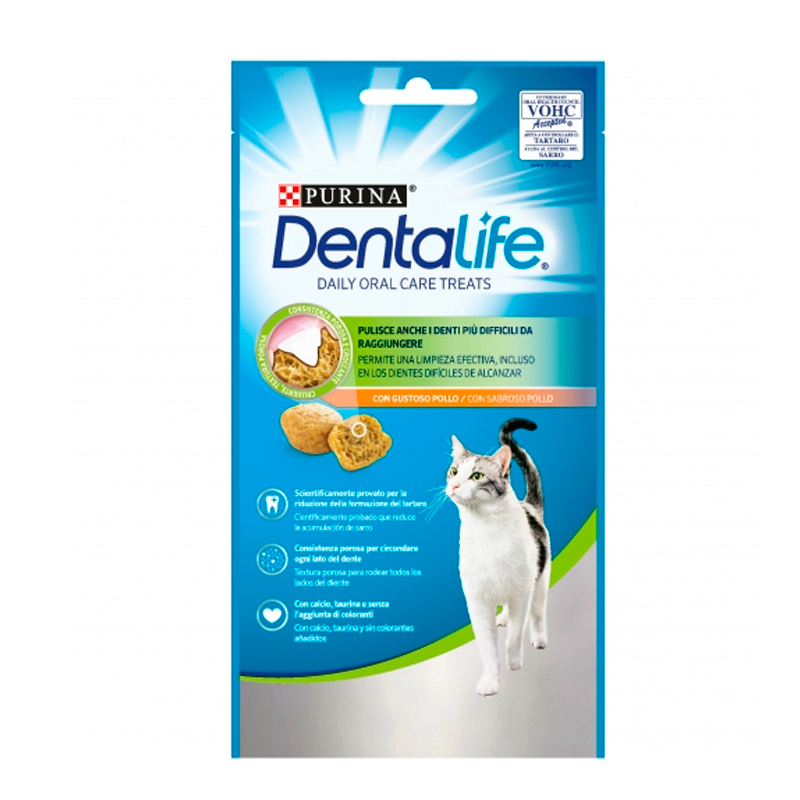 Purina Dentalife Daily Oral Care Flavor Chicken Cat
