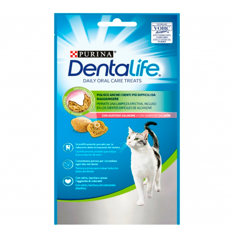 Purina Dentalife Daily Oral Care Flavor Salmon Cat