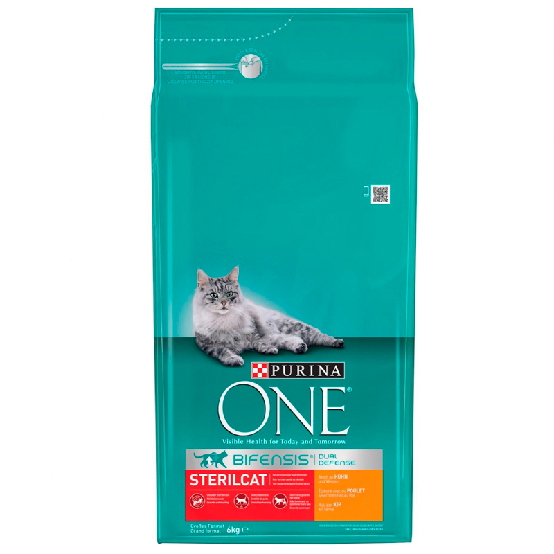 Purina One Sterilized Cat Chicken and Wheat