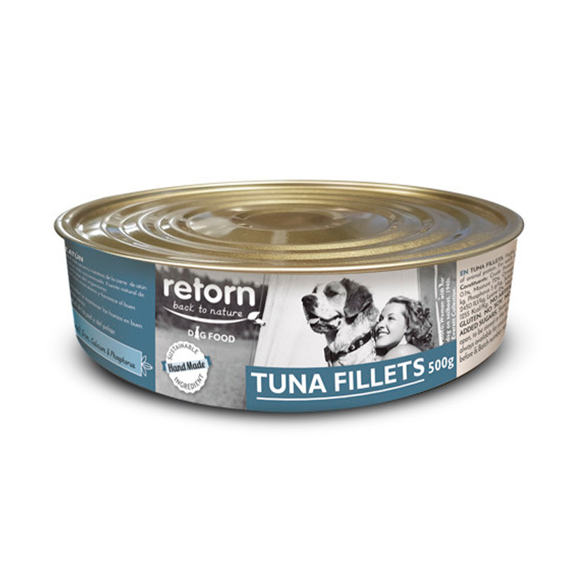 Retorn Can Tuna Fillets For Dogs