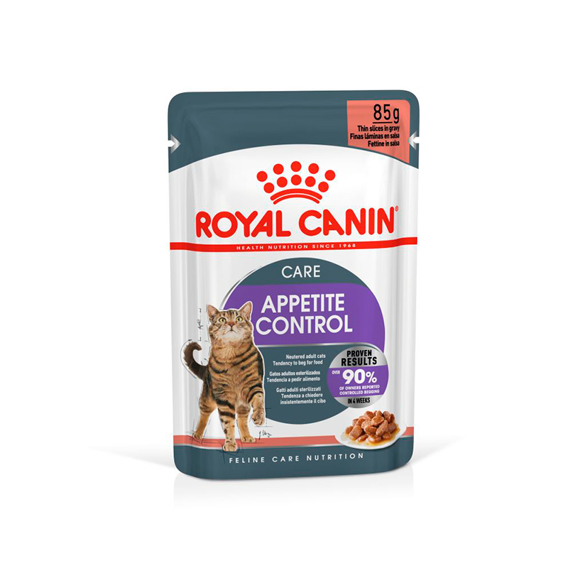 Royal Canin Cat Appetite Control in Gravy Sterilized