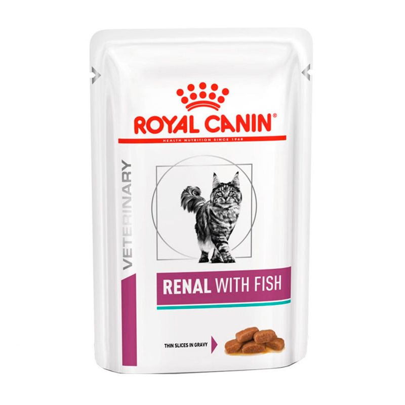 Royal Canin Cat Renal With Fish Pouch