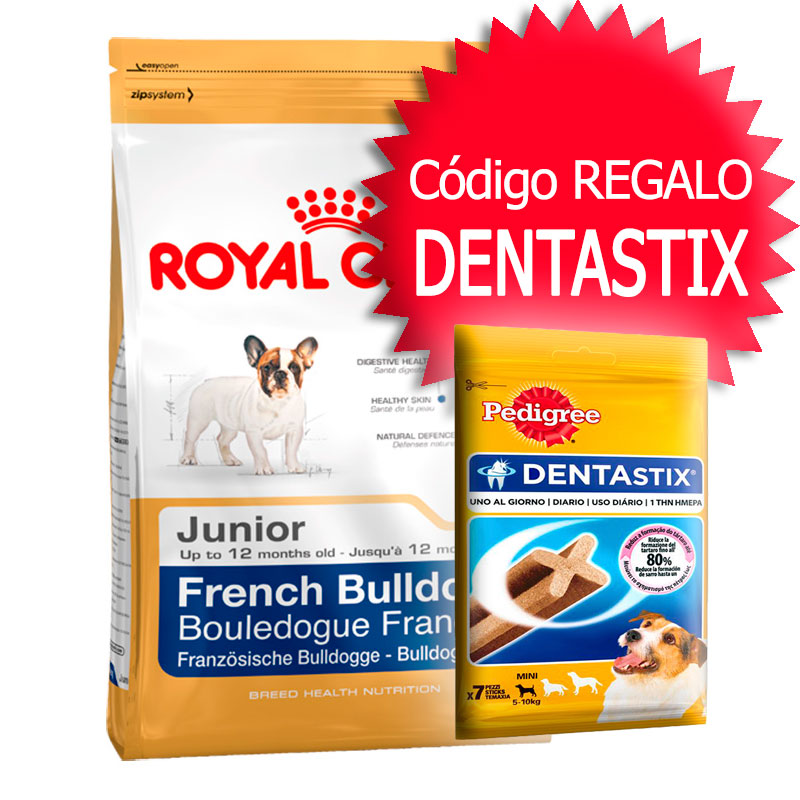Royal Canin Bulldog Francés 30 Junior 10Kg+Cupón