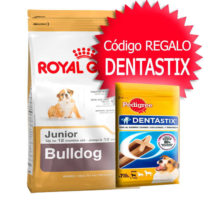 Royal Canin Bulldog 30 Junior 12Kg+Cupón