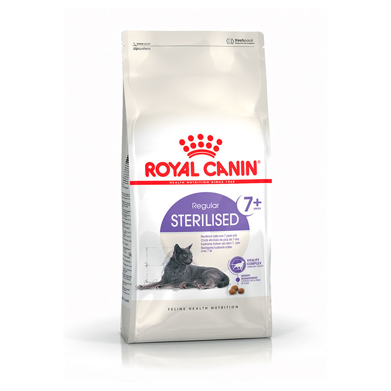 Royal Canin Gato Sterilised 7+