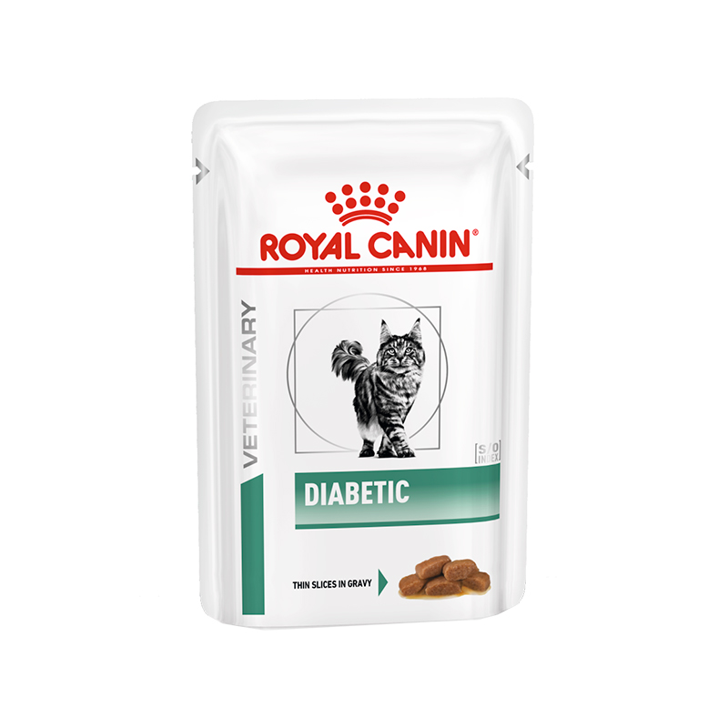 Royal Canin Cat Diabetic Sobre Húmedo 100gr
