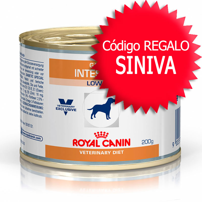 Royal Canin Gastro Intestinal canine Low Fat Lata+Cupón