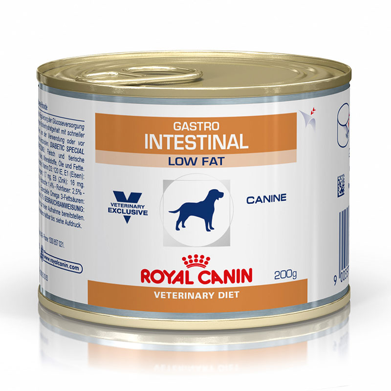 Royal Canin Gastro Intestinal canine Low Fat Lata