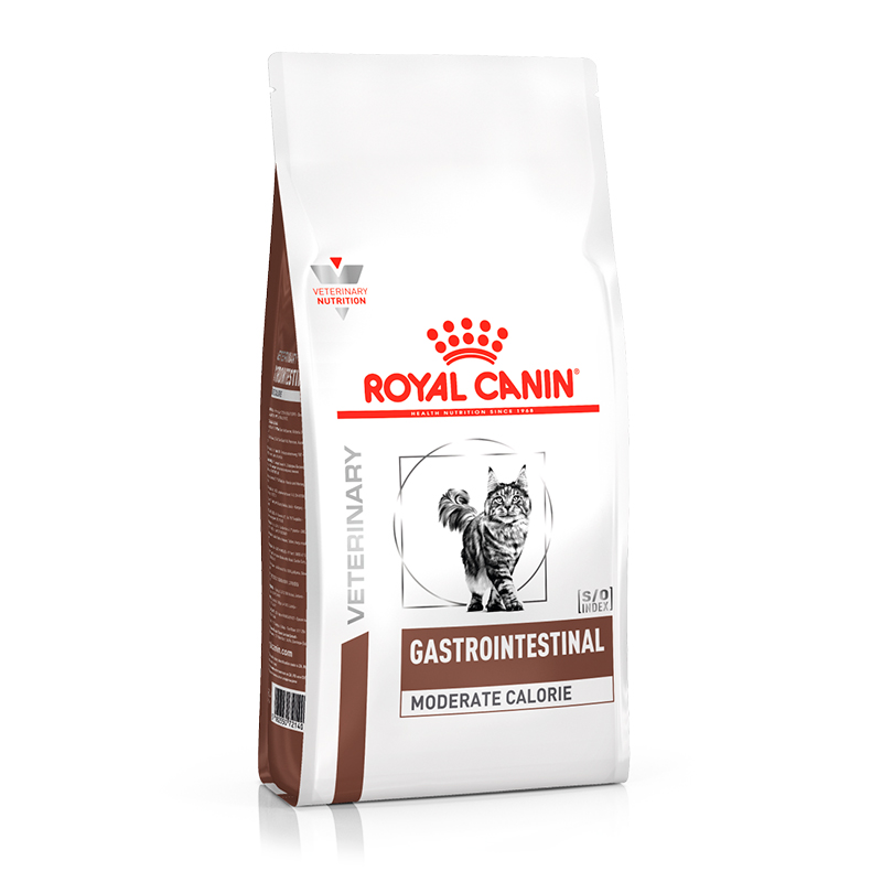 Royal Canin feline Gastro Intestinal Moderate Calorie 4Kg