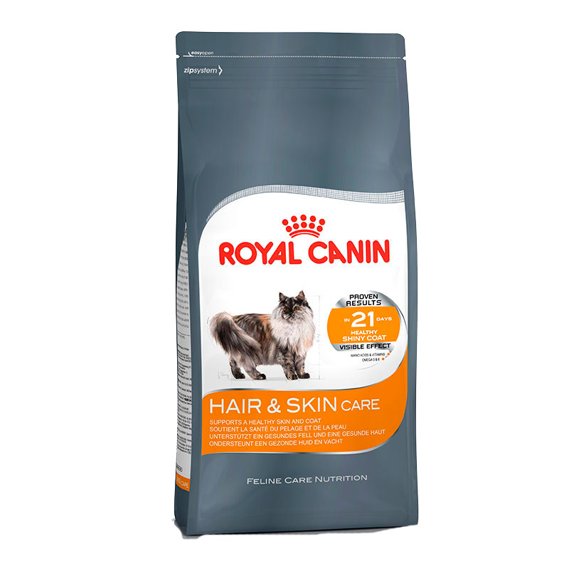 Royal Canin Gato Hair & Skin Care