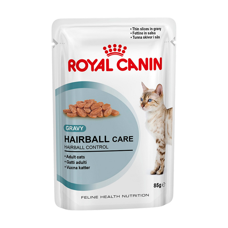 Royal Canin Gato Húmedo Hairball Care in Gravy (Salsa) 85gr