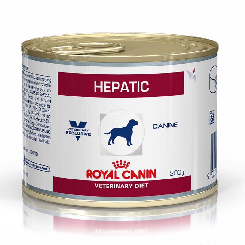 Royal Canin Hepatic Dog Can
