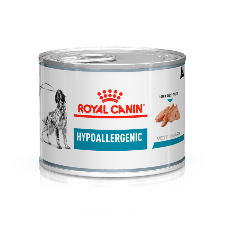 Royal Canin Hypoallergenic canine Lata