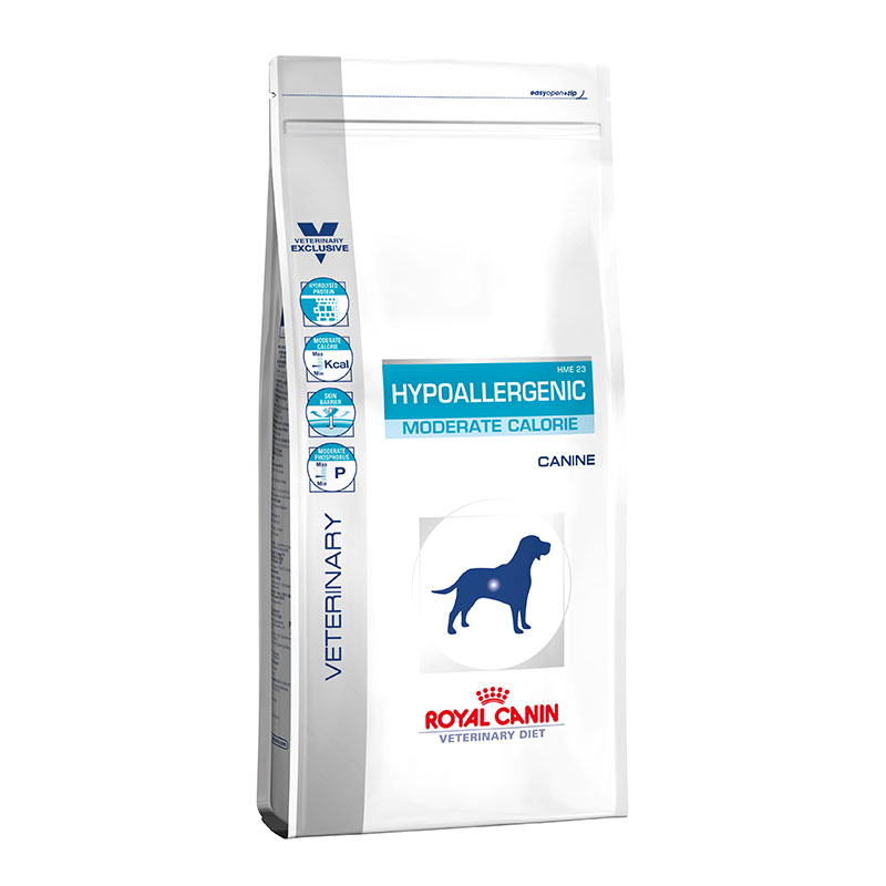 Royal Canin Hypoallergenic Moderate Calorie Canine HME23 14Kg