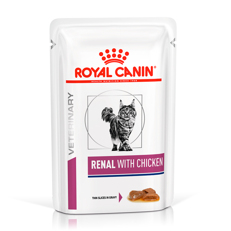 Royal Canin Cat Renal with chicken Pouch
