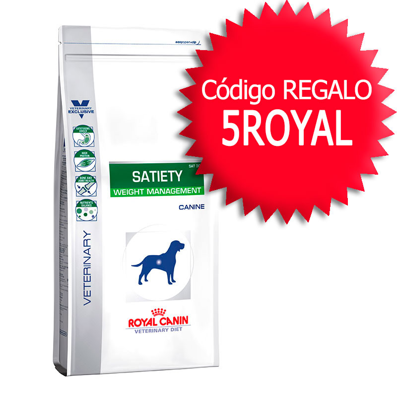 Royal Canin Satiety Support Weight Management Canine+Cupón