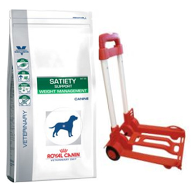 Royal Canin Satiety Support Canine 12Kg+Trolley