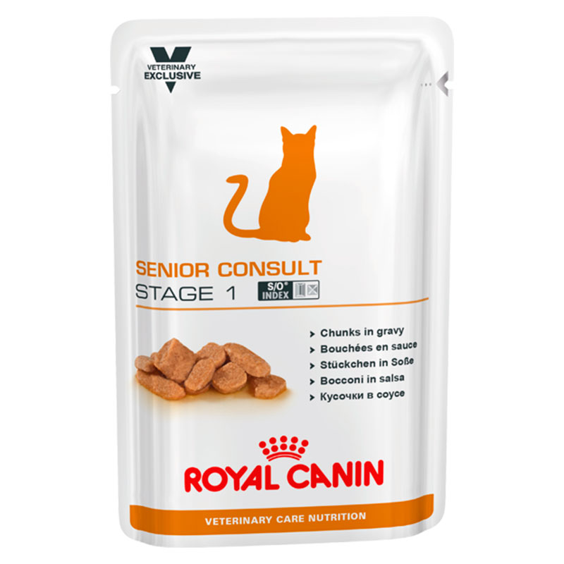 Royal Canin Gato Senior Consult Stage 1 Sobre 100gr