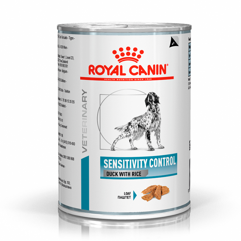 Royal Canin Sensitivity Control Dog Wet with Duck 420gr