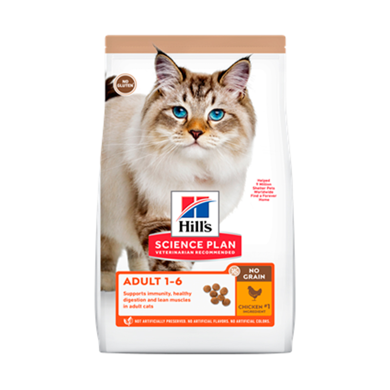 Hill´s Feline Adult No Grain Pollo 2kg