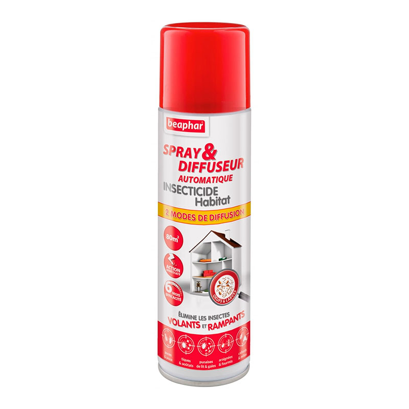 Spray Automatic Diffuser Insecticide Environmental Beaphar 250 ml